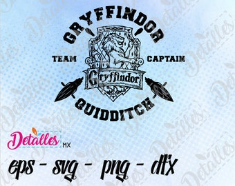 Harry potter Gryffindor Team SVG, Cut File, Vector SVG Eps High Quality design files ai eps for Cricut and Silhouette Cameo
