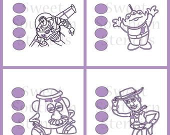 Toy PYO Cookie Stencils (4 Separate stencils)