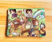 Anime Cosmetic/Pencil Bags pouches (large)
