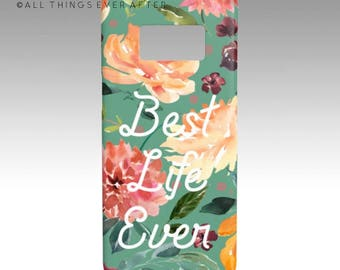 JW Gift | Pioneer Gift| Best Life Ever | Galaxy S 8 Case Teal