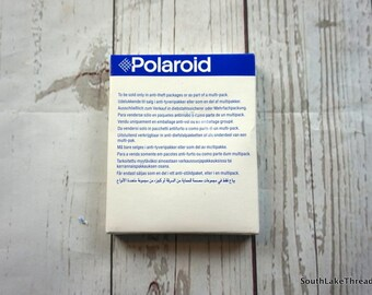 Vintage Polaroid 600 Film Sealed & Still in Original Packaging, Hipster, Art Project, Vintage Film, Sealed, Photography Project, Film