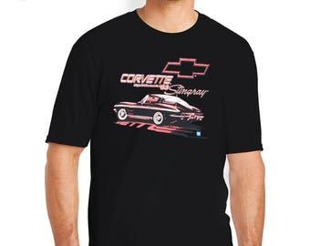 Splitback Stingray T-Shirt, Splitback Stingray Shirt, Stingray Corvette, Stingray, Corvette T-Shirt, Corvette Shirt, Corvette, Chevy T-Shirt