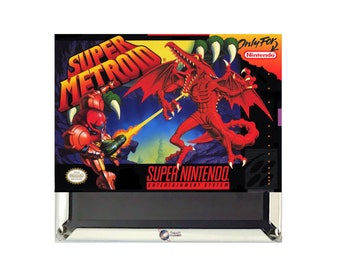 Super Metroid SNES Magnet