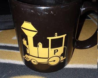 Purdue University Jack Mollenkopf Golf coffee mug/cup/Boilers/Alumni/football coach/Ross Ade/Indiana/tailgate/Pete/classic/train/mascot