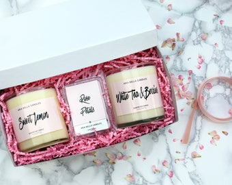 Essentials Gift Set - White - Soy Candle - Feminine