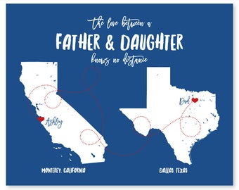 Father's Day Gift for Dad from Daughter Personalized Fathers Day Gift from Daughter Fathers Day Gift for Dad from Son Dad Gift from Daughter