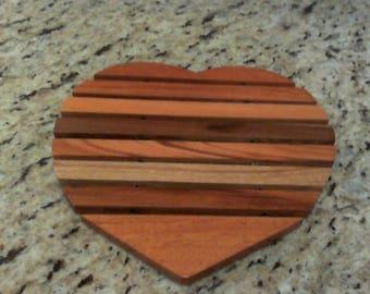 Handmade Heart Trivet