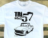 Tri Five 57 1957 Chevrolet Stepside Pick-up Truck image design Item# GCE-TF57CSPU1957