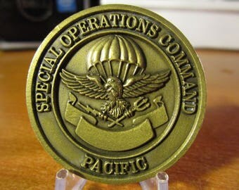 Special Operations Command Pacific Challenge Coin #3754