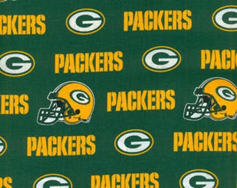 Green Bay Packers Fabric by the Yard