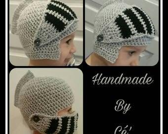 Crochet Knight Hat