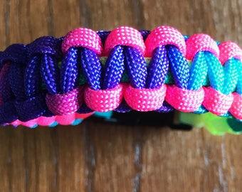 LGBTQ Pride Rainbow Paracord Bracelet