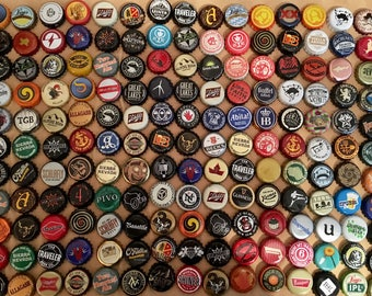 Craft Beer cap magnets. Gift set of 6. Pick & choose.
