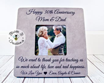 ON SALE Anniversary Gift For Parents, Special Anniversary Mom and Dad, Anniversary Gift, 30th Anniversary, Golden Anniversary, Silver Annive