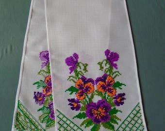 Ukrainian Hand Embroidered Towel, Rushnyk, Ukraine,