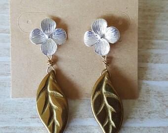 Long Earrings Women Long Dangle Earrings for Evening Flower Earrings Bridesmaids Earrings Feminine Jewelry Bridesmaid Jewelry Women Gift