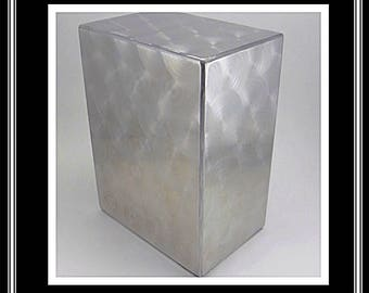 Majestic-Machine Cremation Urn/Cremation Urns/Funeral Urns/pet Urn/Stainless Steel Urns/Urns for ashes/Made in USA/handmade/handcrafted urns