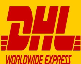 EXPRESS 3 day shipping WORLDWIDE via DHL