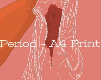 Period - A4 Print