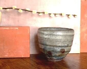 Dark stoneware bowl