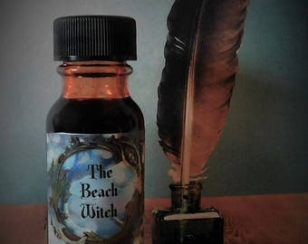 DRAGON'S BLOOD Writing Ink, Spell Ink, Ritual Ink, Ritual Oil, Spell Oil, Wicca, Witchcraft, Pagan, Hoodoo~ 1/2 oz