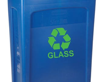 Recycle Decal, Recycle Sticker, Recycle Label,  Recycle Logo, Recycle Glass, Environment