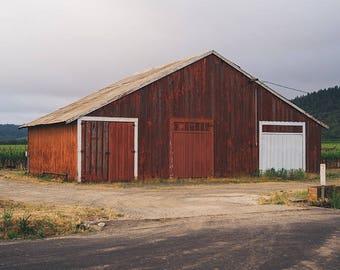 Barn Photograph, Barn Picture, Red Barn Photo, Farmhouse Decor, Farm Photography, Landscape Photography, Wall Art, Fine Art Photography