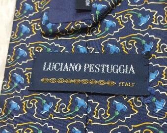 FREE SHIPPING, Vintage Silk ties, Made in Japan, Floral Ties, Gifts for him