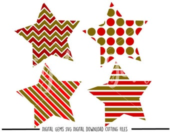 Star svg / dxf / eps / png files. Digital download. Compatible with Cricut and Silhouette machines. Small commercial use ok.