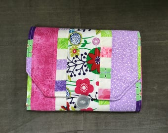Portable Diaper Changing Pad: Gorgeous Garden