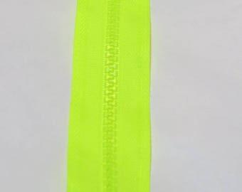 NEON yellow zipper 30cm