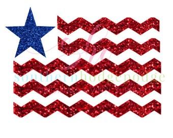 Monogram American Flag SVG/ SVG file/ dxf file/  svg design/ flag svg/ flag design/ silhouette/ american flag/ monogram flag svg/ dxf