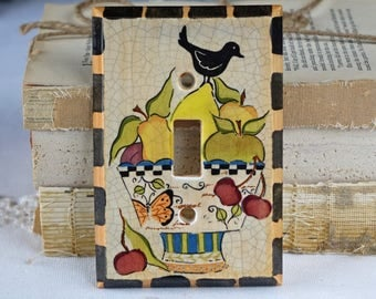 Light Switch Plate Cover - Electrical - Ceramic switch plate cover