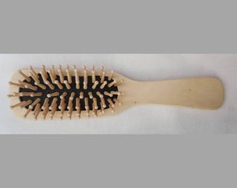 Wooden hair brush / Wooden Hairbrush / Wooden brush / Wood hair brush / Wood Hairbrush / Wood brush / Ukrainian Gifts.