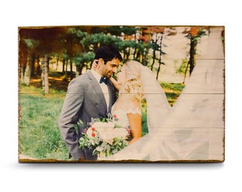 Photo on Wood, Pallet Photo, Picture on Wood, Photos on Wood, Rustic Home Decor, Pallet Wall Art, Personalized Gift, Pictures on Wood