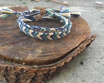 Earthy Adjustable Bracelet Set