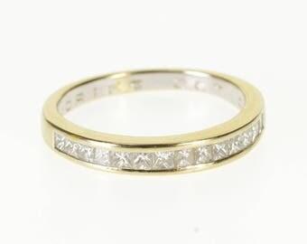 14k 0.50 Ctw Diamond Wedding Anniversary Band Ring Gold