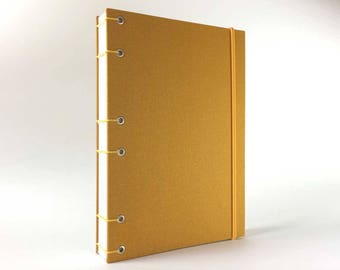 A5 Lay-Flat Bullet Journal (6 x 8 in) 130gsm No Bleed, No Ghost! Bullet Notebook, Travel Journal, Dot Grid Notebook, Bujo, Blank Book.