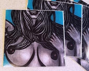 """Dana"" 8x8in Art Print [open edition]"