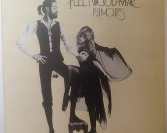 Fleetwood Mac RUMOURS 1977 Cover Original Vinyl Record LP /RARE