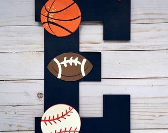 Sports wall decor | Etsy