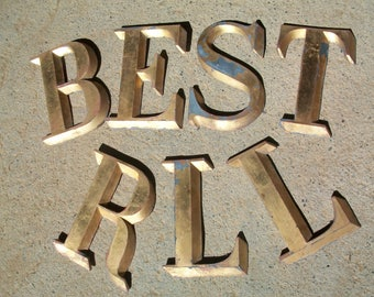Bronze Letters For Sale Custom 60 Metal Wall Letters Decorating Inspiration Of Make A