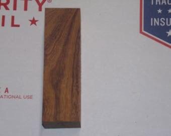 Desert Ironwood Knife Block #A Scales Turining Pistol