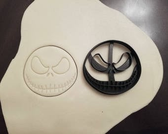 Nightmare Before Christmas Jack Skellington Cookie Cutter
