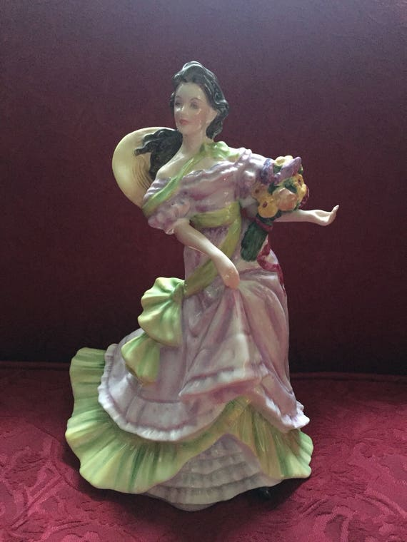 FREE SHIPPING -Royal Doulton-Summertime Figurine