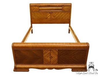 Antique Arts & Crafts Style Full Size Bed