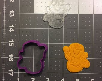 Ghost 101 Cookie Cutter and Stamp (Embossed)
