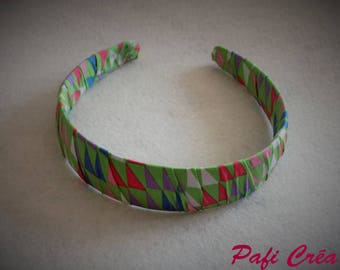 Headband thick fabric multicolor