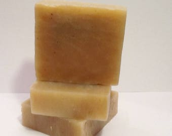 Organic Ginger Lime Soap Loaf