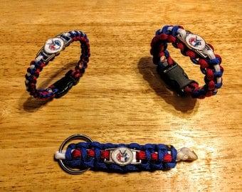 Eagle Scout Paracord Bracelet, Keychain, or Set